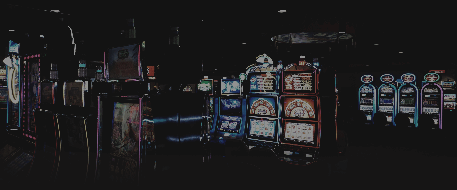 electronic games at Creek Nation Casino Holdenville